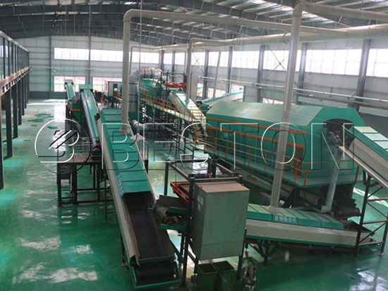 Beston Municipal Solid Waste Sorting Machine