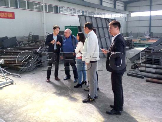 Beston Municipal Solid Waste Processing Machine for Sale
