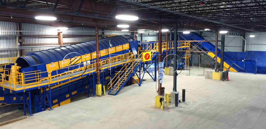 Beston Waste Sorting Plant for Sale