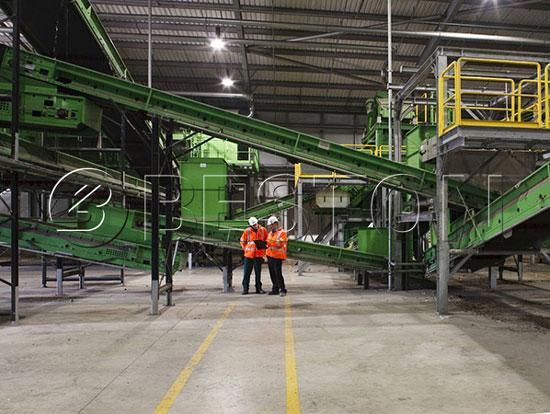 Beston Solid Waste Separation Machine
