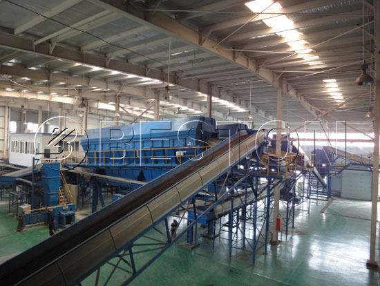 Beston Solid Waste Sorting Machine