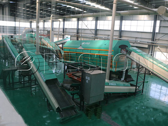 Beston Trash Processing Plant for Sale