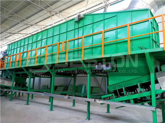 Reasonable solid waste management plant cost