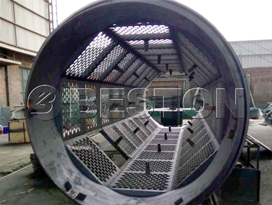 Internal Structure Of Rotary Screening Machine