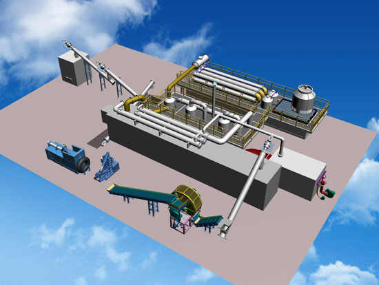 Plastic Fruther Processing Line