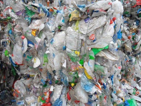 Sorted Light Waste Plastic