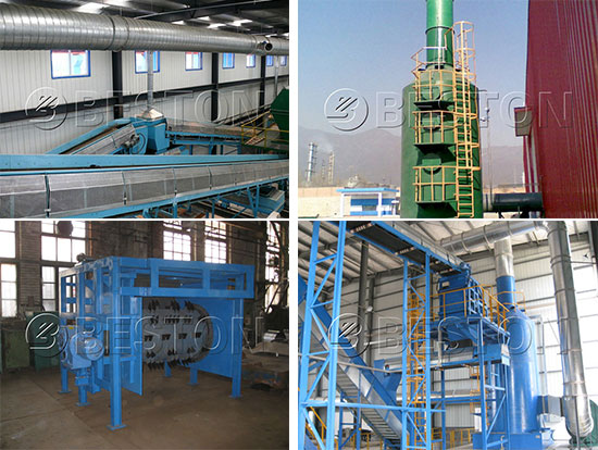Vital Parts of Garbage Separation Machine