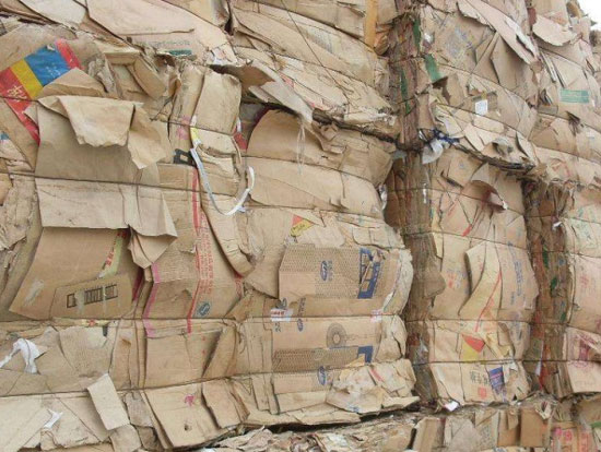 Packaged Waste Paper