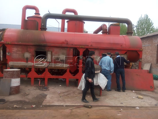 Beston Biomass Pyrolysis Plant for Sale With Lower Production Cost