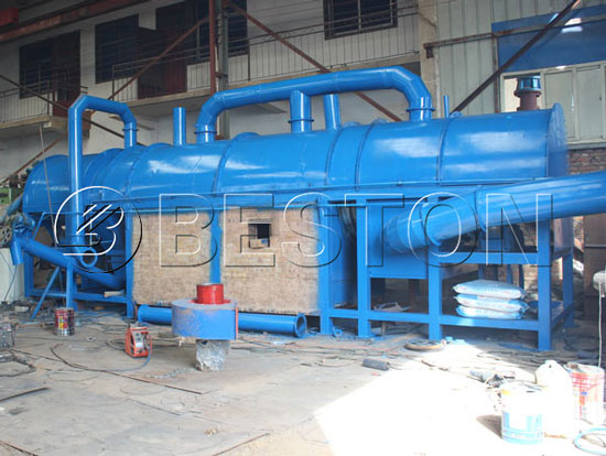 Beston Continuous Coconut Shell Carbonizing Furnace