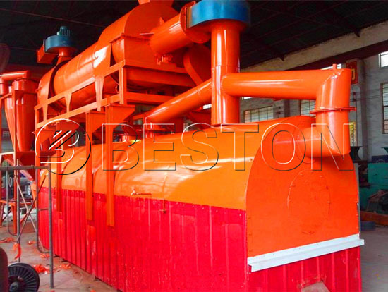 Beston Palm Shell Charcoal Machine