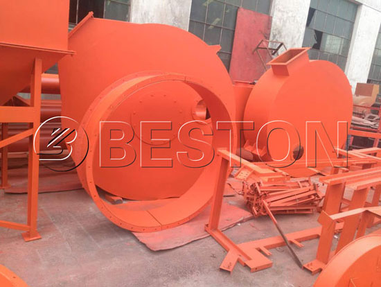 Beston Palm Shell Charcoal Making Machine Has Been Sold to Australia