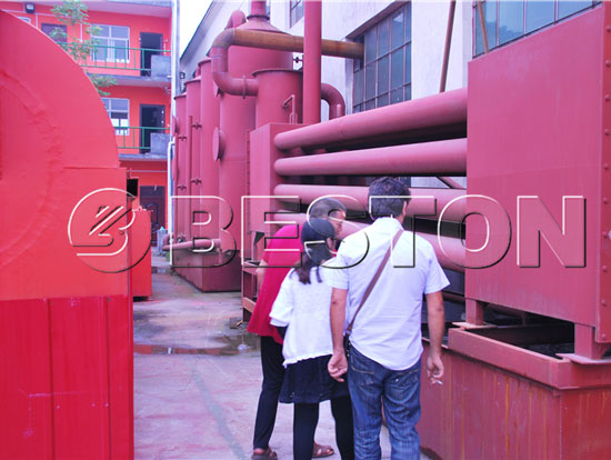 Beston Palm Krenel Shell Charcoal Machine for Sale