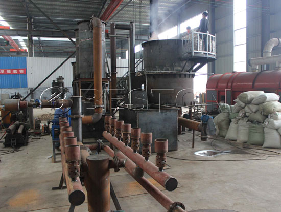 Beston Straw Charcoal Making Machine