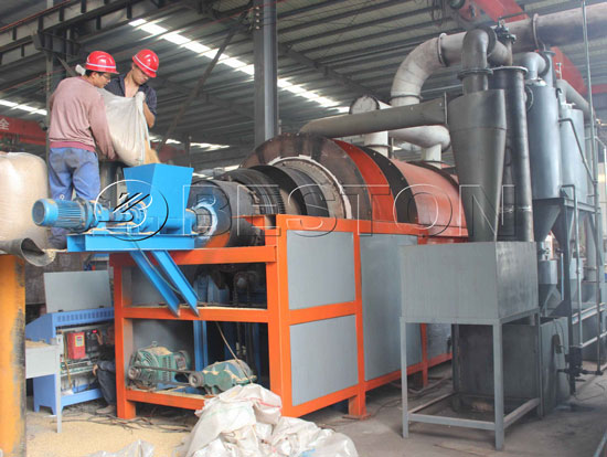 Beston Shisha Charcoal Making Machine
