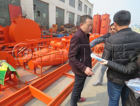 Beston Wood Carbonization Plant for Sale