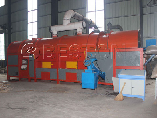 Carbonization Furnace With Double Layers