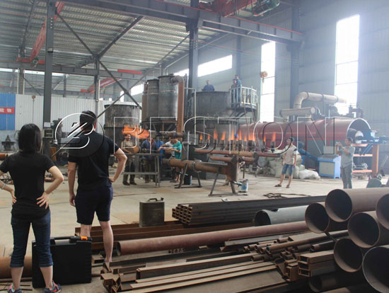 Carbonization Process of Wood