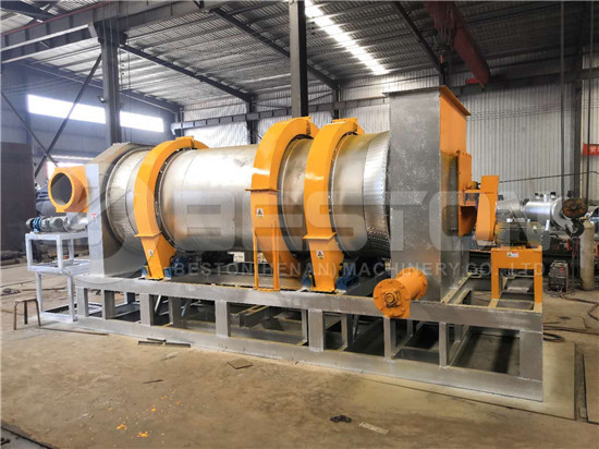 Beston biochar production equipment