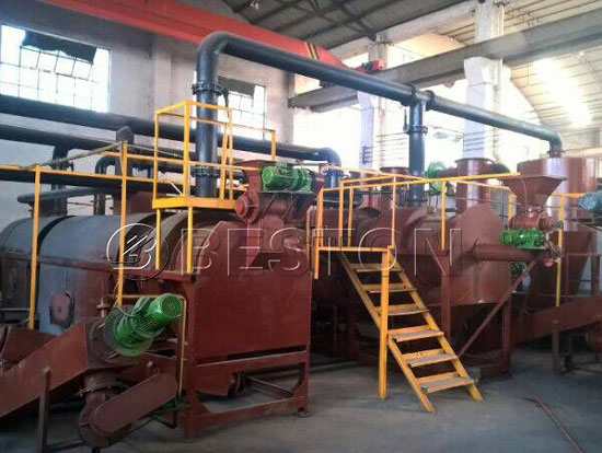 Sewage Sludge Treatment Plant