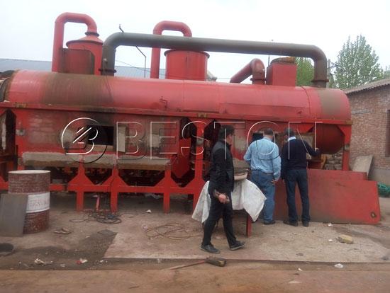Sewage Sludge Treatment Process