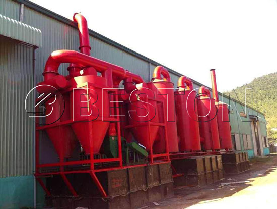 Spay Dedusting System