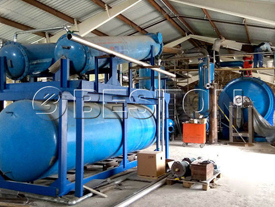 Waste Tyre Pyrolysis Plant Was Sold to Hungary