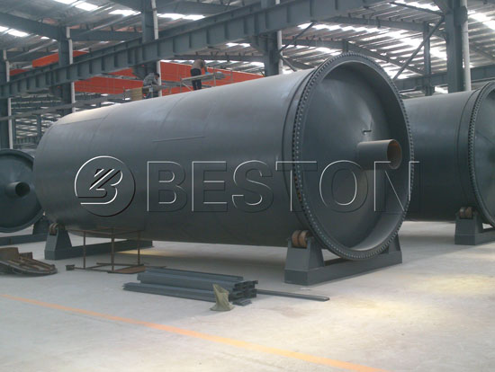 360° Plastic Pyrolysis Rotating Reactor