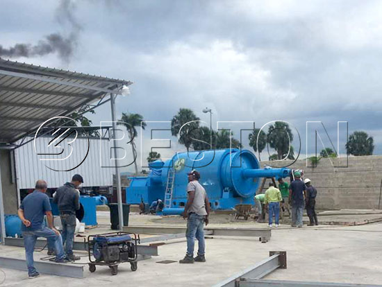 Plastic Pyrolysis Plant in Dominica