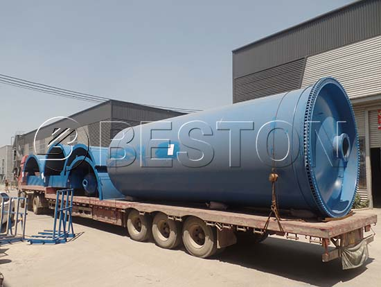 Pyrolysis Reactor Shipping to Nigeria