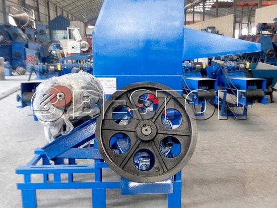 plastic recycling equipment
