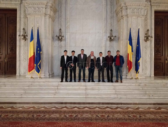 CEO and managers & Romania partners