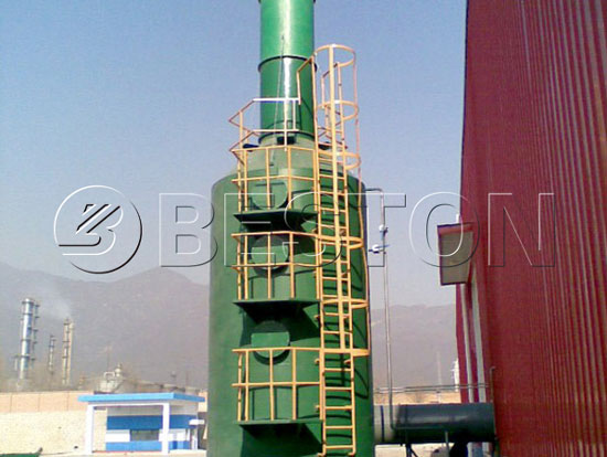 Deodorant Device for Municipal Solid Waste Treatment