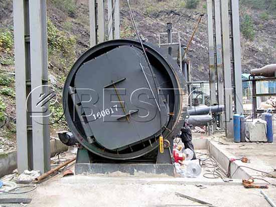 Plastic to Fuel Machine in Korea