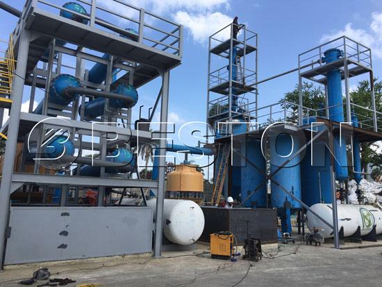 BLL-6 Plastic to Diesel Machine