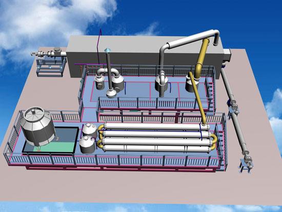 BLL-30 Waste Plastic Pyrolysis Plant