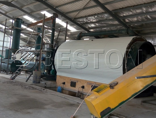 Small Scale Plastic Recycling or Pyrolysis Plant