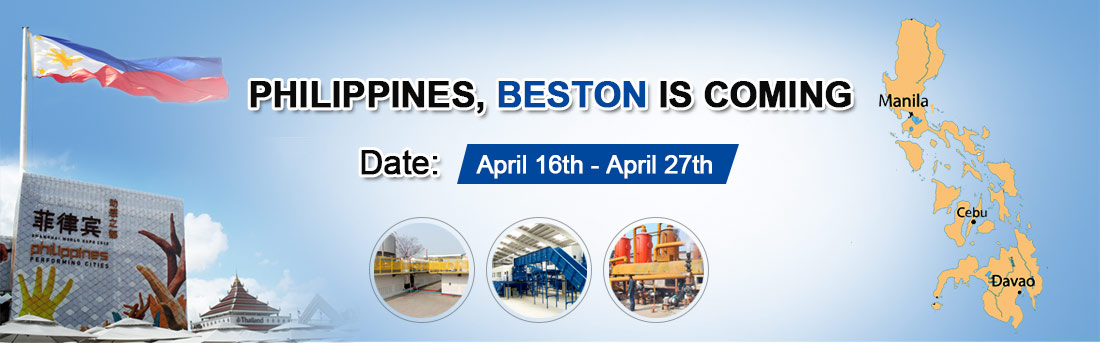 Beston Team Will Go to Philippines