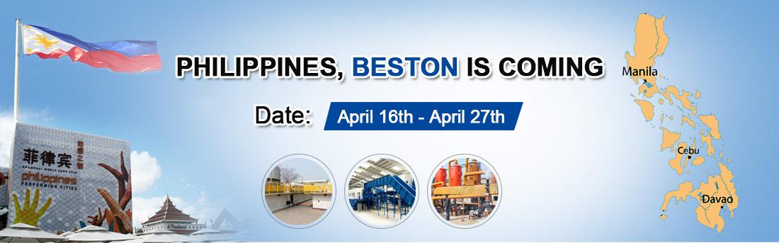 Beston Team Will Go to Philippines