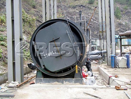 BLJ-10-Pyrolysis-Machine-in-Korea