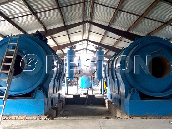 BLJ 10 Pyrolysis Plant in Hungary