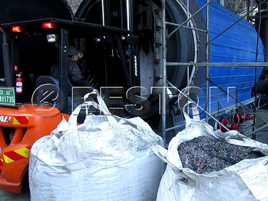BLJ 10 Pyrolysis Plant in Korea