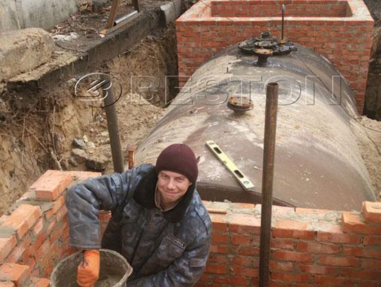 BLJ-10 Waste Pyrolysis Plant in Ukraine