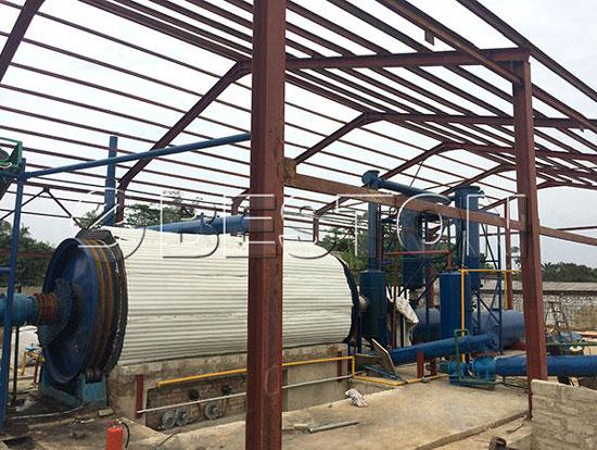 BLL-16 Pyrolysis Machine in Nigeria