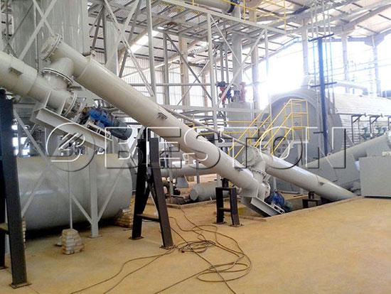 BLL-16 Pyrolysis Plant in Brazil