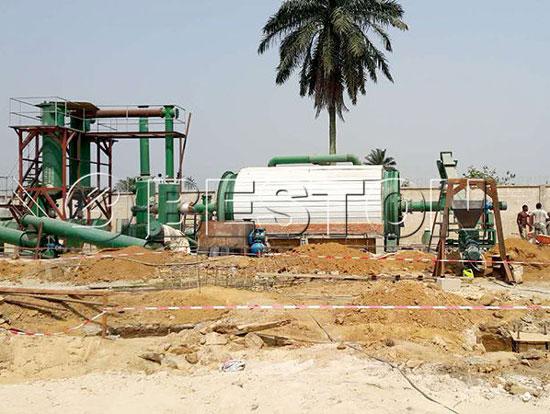 BLL-16 Pyrolysis Plant in Nigeria