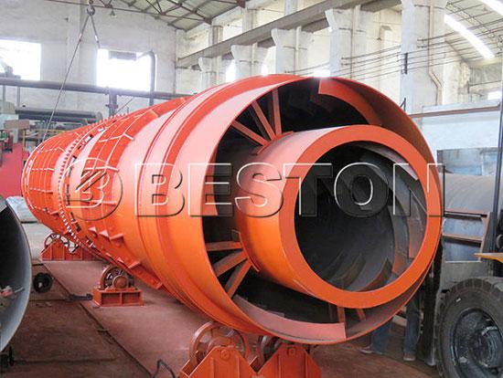BST-10 Biomass Carbonization Plant in Ukraine
