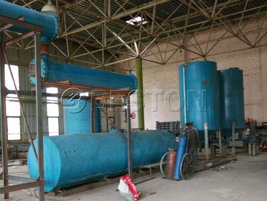 BZJ-10 Oil Distillation Plant in Ukraine