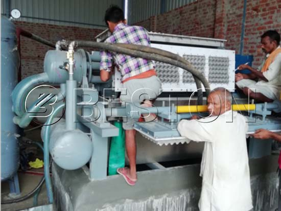 Egg Tray Making Machine in India