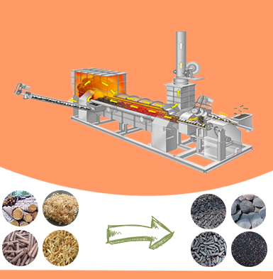 Biochar Making Machine